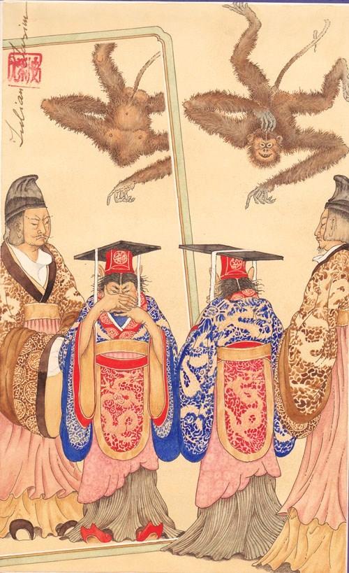 Der Kaiser von China, der alles auf den Kopf stellte